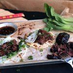 Tacos mit BBQ - Schweinebäckchen