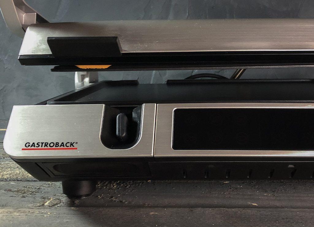 Gastroback Design BBQ Advanced Control - die Höhenverstellung Kontaktgrill / Elektrogrill