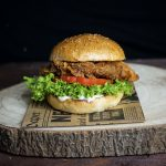 Crispy Chicken Burger mit Pollo Fino