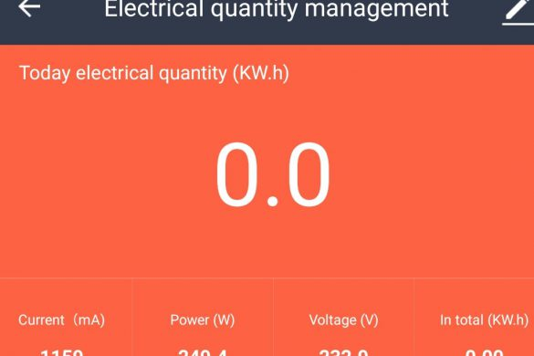 Burndhard Flint Stromverbrauch