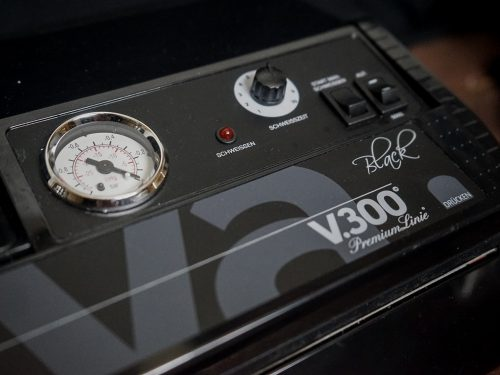 Lava Vakuumiergerät mit Manometer