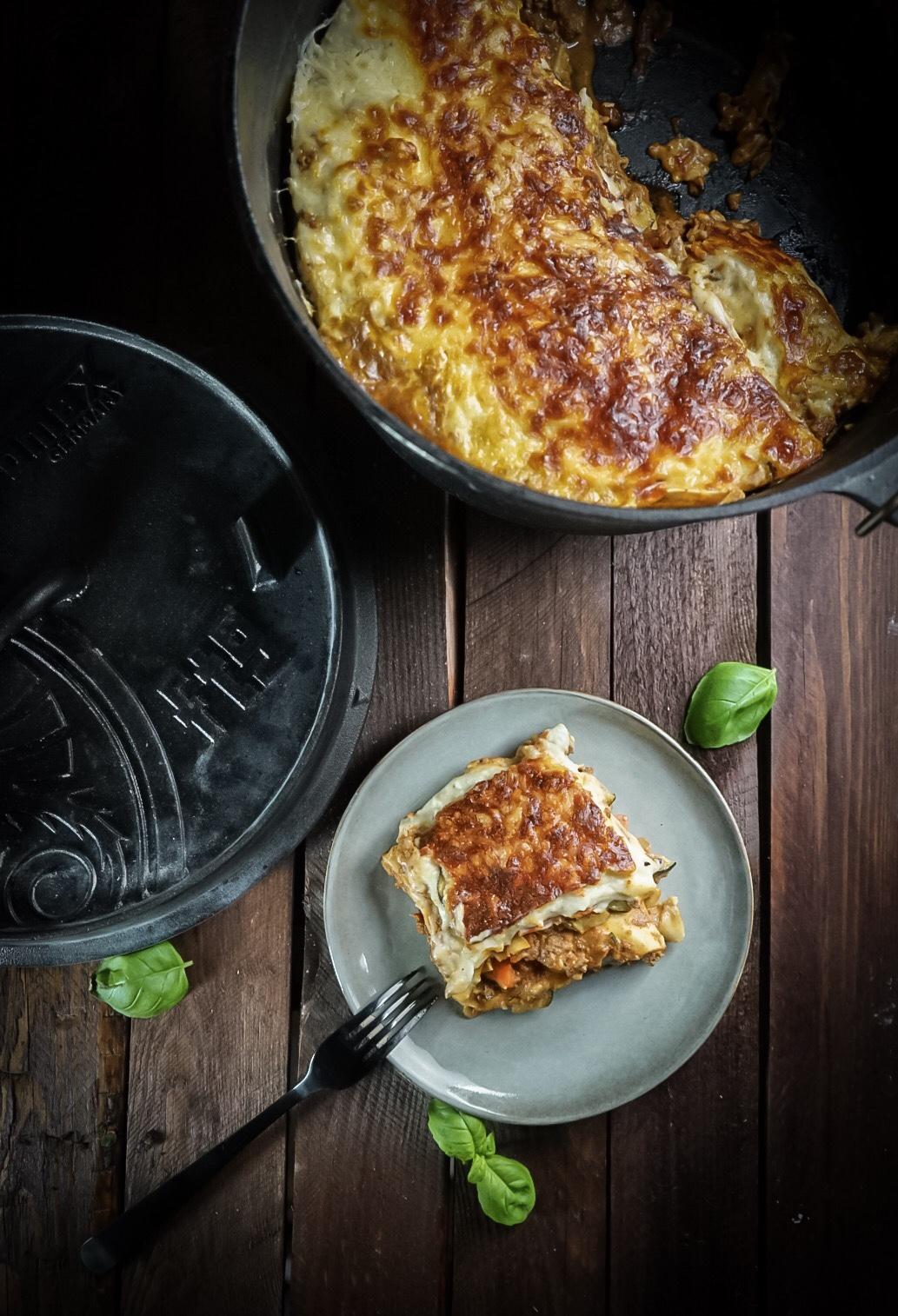 Lasagne aus dem Petromax ft9