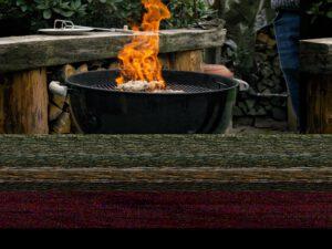 Souvlaki grillen und mit Ouzo 12 flambieren
