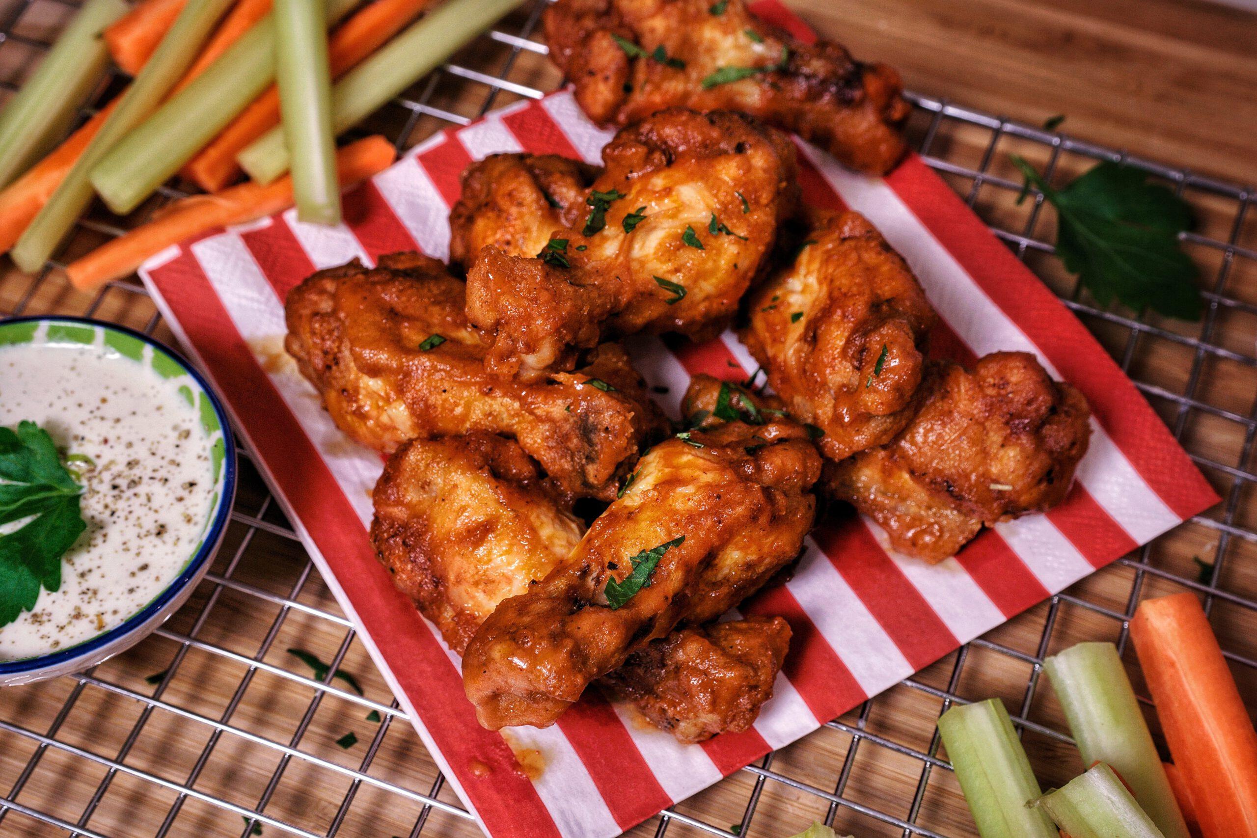 Chicken Wings Buffalo Hot Style